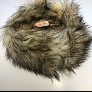Juicy Couture Faux Fur Infinity Scarf